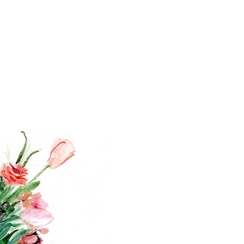 Bos lentebloemen aquarel 2