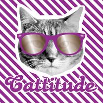 Zomaar kaarten - Brandal Cattitude girl