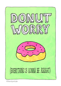 Coachingskaarten - Coaching Donut Worry - SD