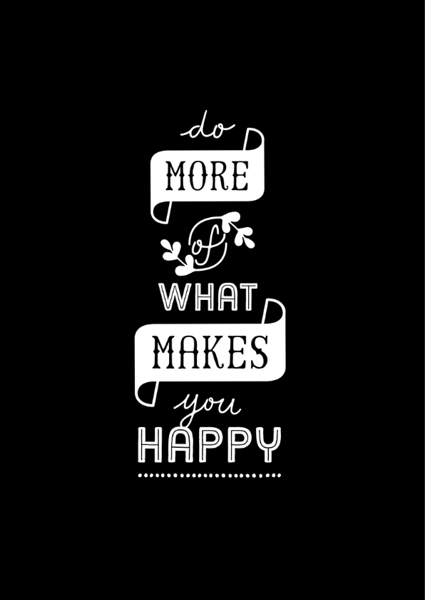 Coachingskaart do more of what makes you happy 2