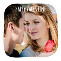 Valentijnskaarten - Collage Happy Valentine - BK