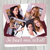 Vriendschap kaarten - Collage Vriendschap - BK