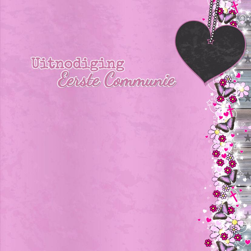 Communie Lief en stoer vlinder 4 3