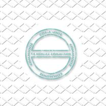Felicitatiekaarten - communie stempel