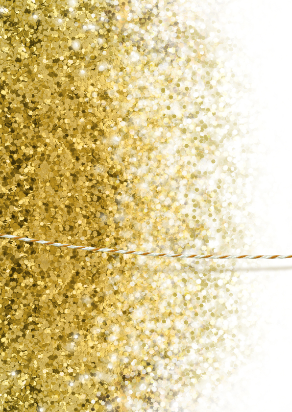 Communie vormsel lentefeest glitter kader label goud 2