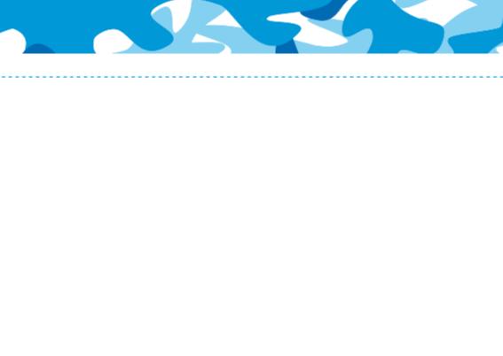 Communiekaart Camouflage blauw 2