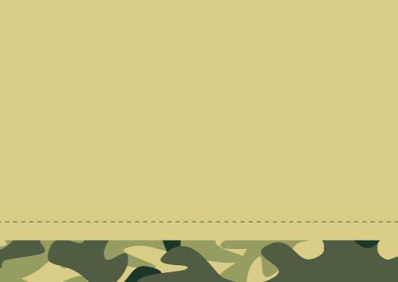 Communiekaart Camouflage leger 3