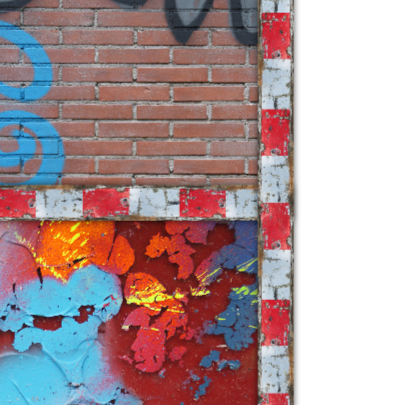 communiekaart graffiti stoer stempel 2