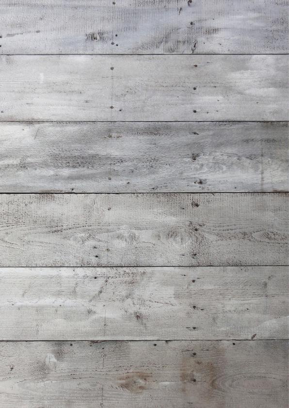 Communiekaart hout kist - BK 2