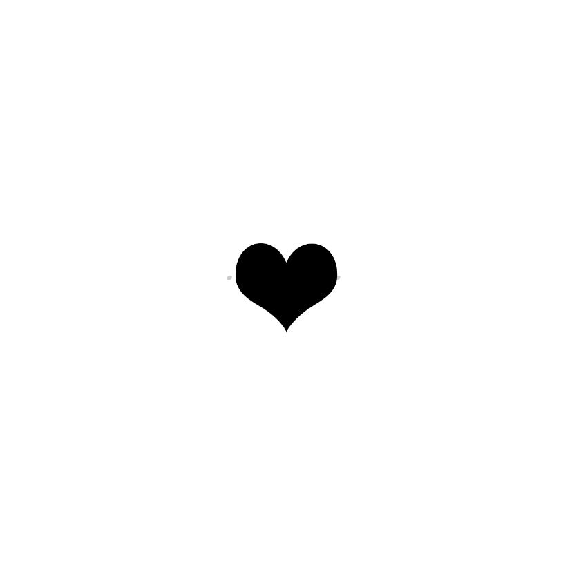Condoleance kaart - voor altijd in ons hart 2