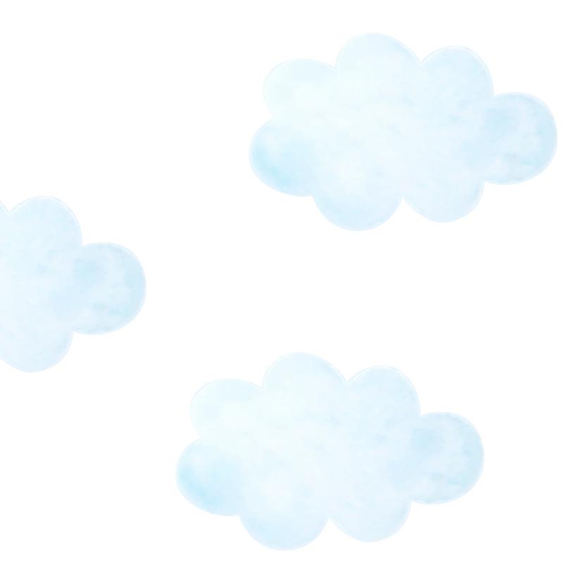 Condoleance - kindje verloren blauw 2
