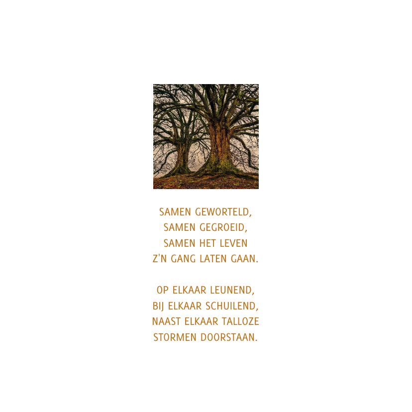 condoleance twee bomen broer en zus 2