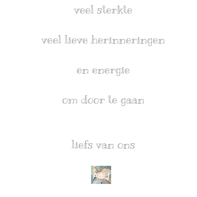 Condoleance Vlinder reliëf - AW 3