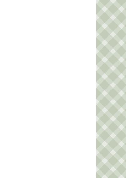 Condoleancekaart grijs groene ruit 3