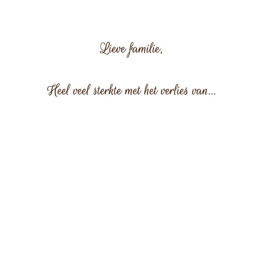 Condoleancekaart, hortensia foto 3