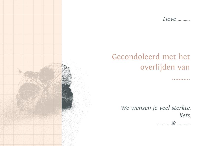 Condoleancekaart hortensia 3