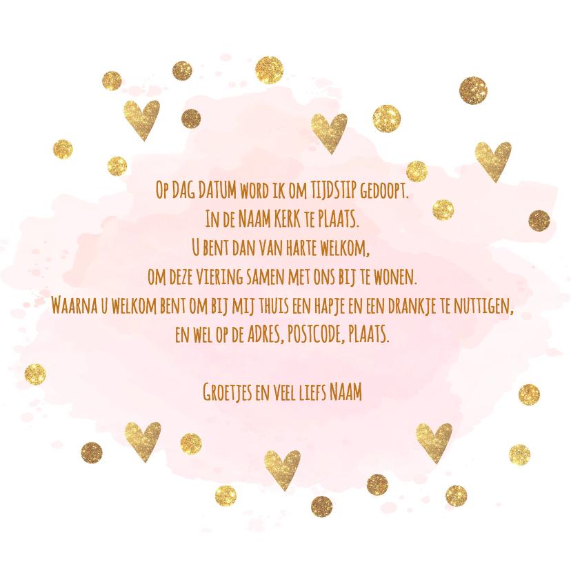 confetti doopkaart 3