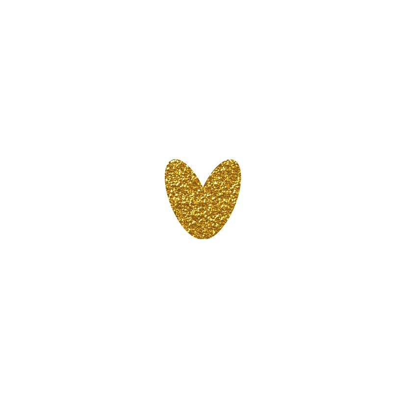 Dankje hart goud 2