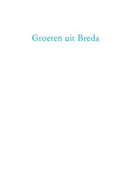 de groeten uit Breda 3