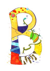 Zomaar kaarten - De letter B