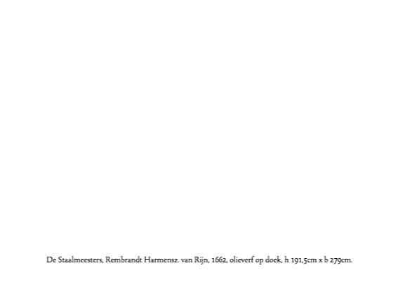 De Staalmeesters - Rembrandt 3