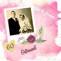 Jubileumkaarten - Diamanten huwelijksfeest
