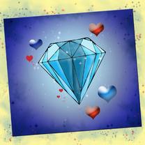Jubileumkaarten - Diamantenhuwelijk NA