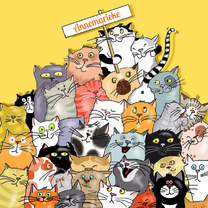 Dieren-  katteneenheleboel
