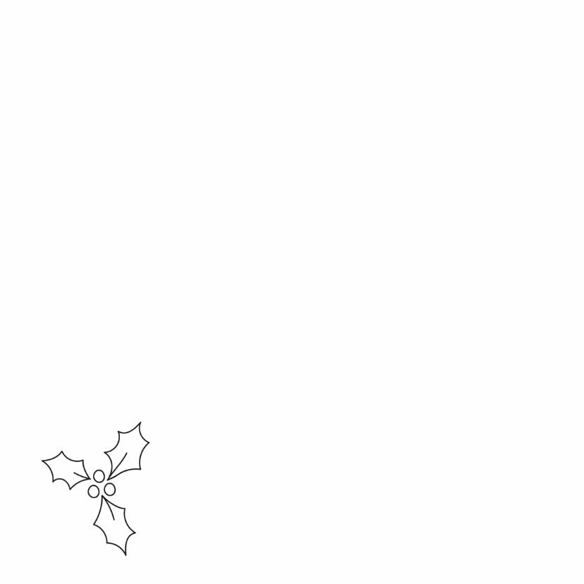 Dieren Kerstkaart - Stafford Kersthond 2