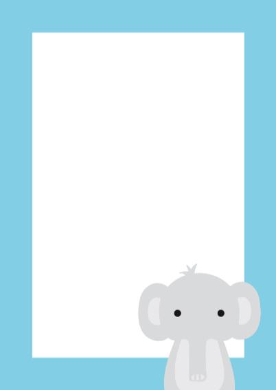 Dierenkaart Hoeist Olifant 3