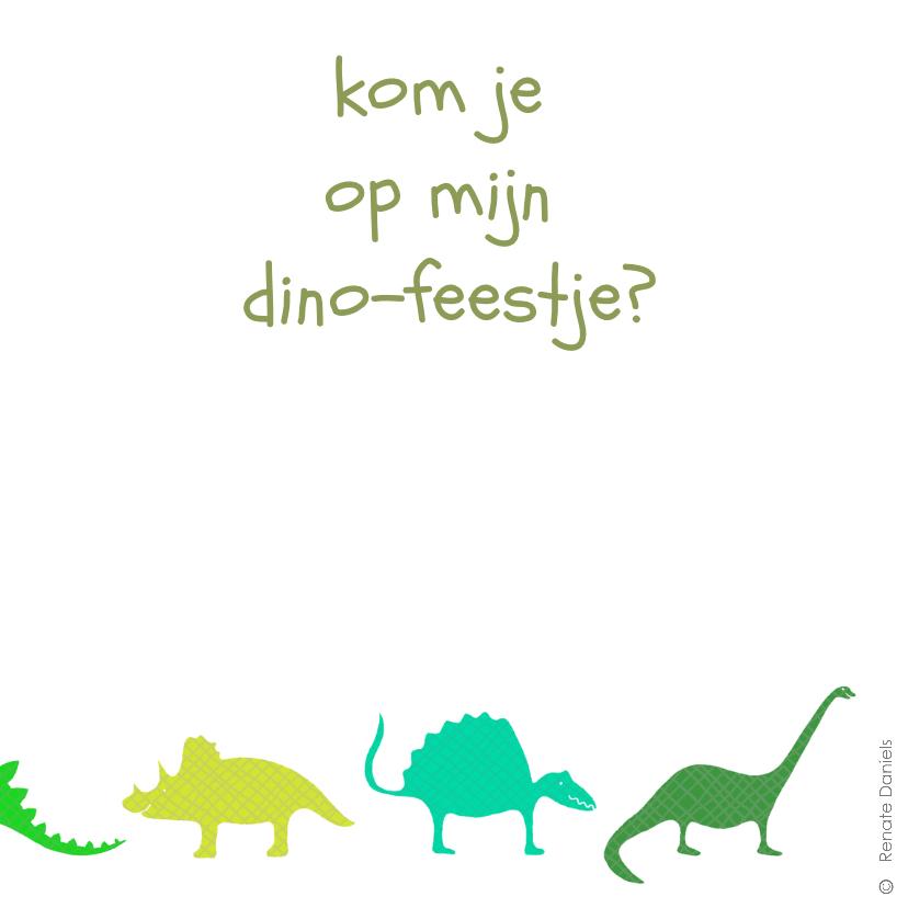 Dinosauriërs groen 2