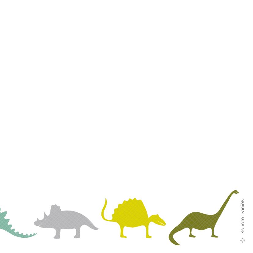 Dinosauriërs paars 2