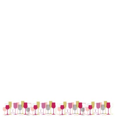 Divers wijnglazen 1 2