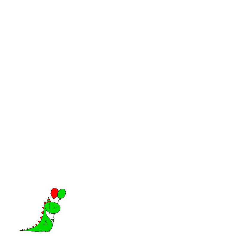 draak dinosaurus jarig 2