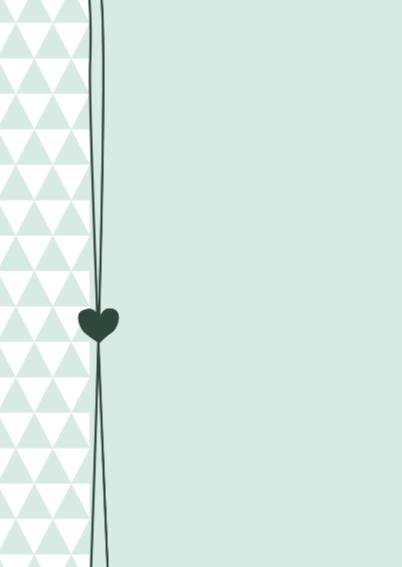 Driehoekjes met hartje,  jongen 2