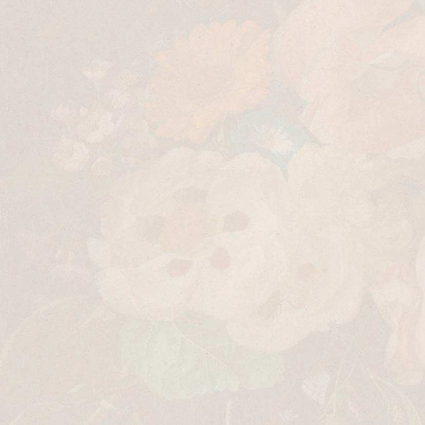 Een klassieke sterkte kaart met stijlvol bloemenschilderij 2
