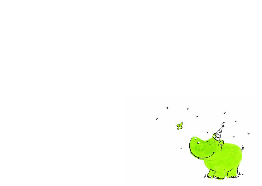 Een kleine geboren groen 3