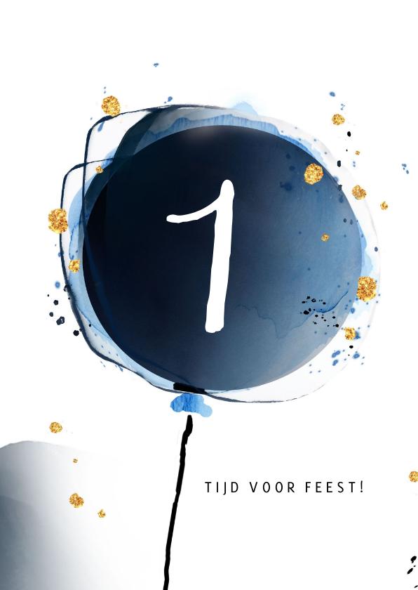 Eerste verjaardag - ballon 2