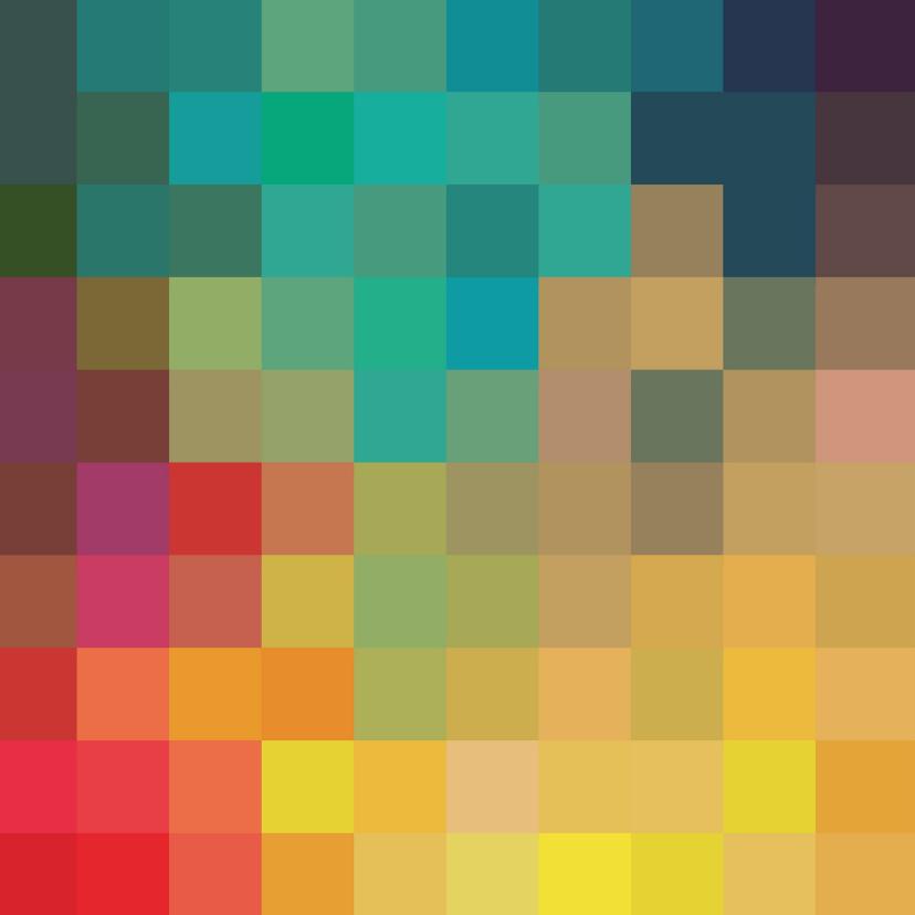 Eigen tekst en kleurige vakjes 2