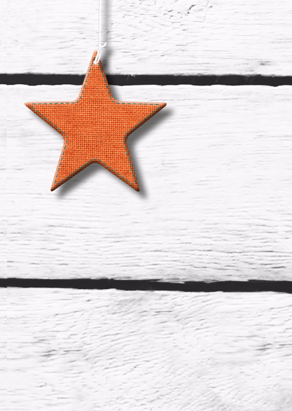 eigen tekst en ster op houtprint 2