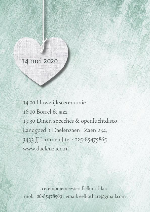 Eigen tekst op print van harten 2