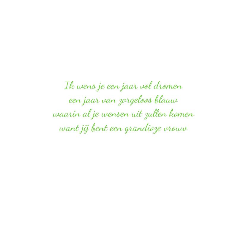 elfje met lieve bloemengroet 3