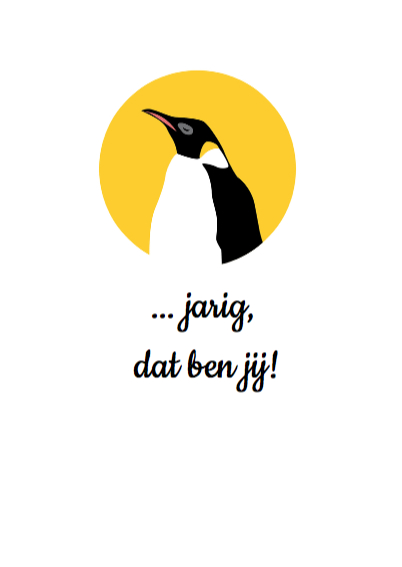 Er is er een jarig - pinguins 3