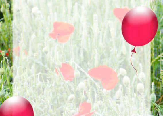 Feest bloemen zelf invullen c 2