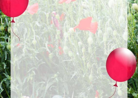 Feest bloemen zelf invullen c 3