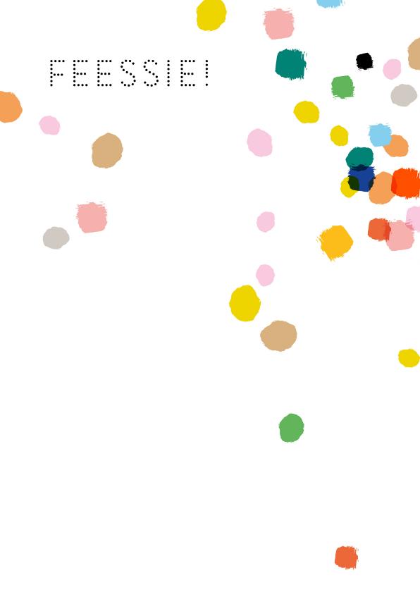 Feest confetti vrolijk 2
