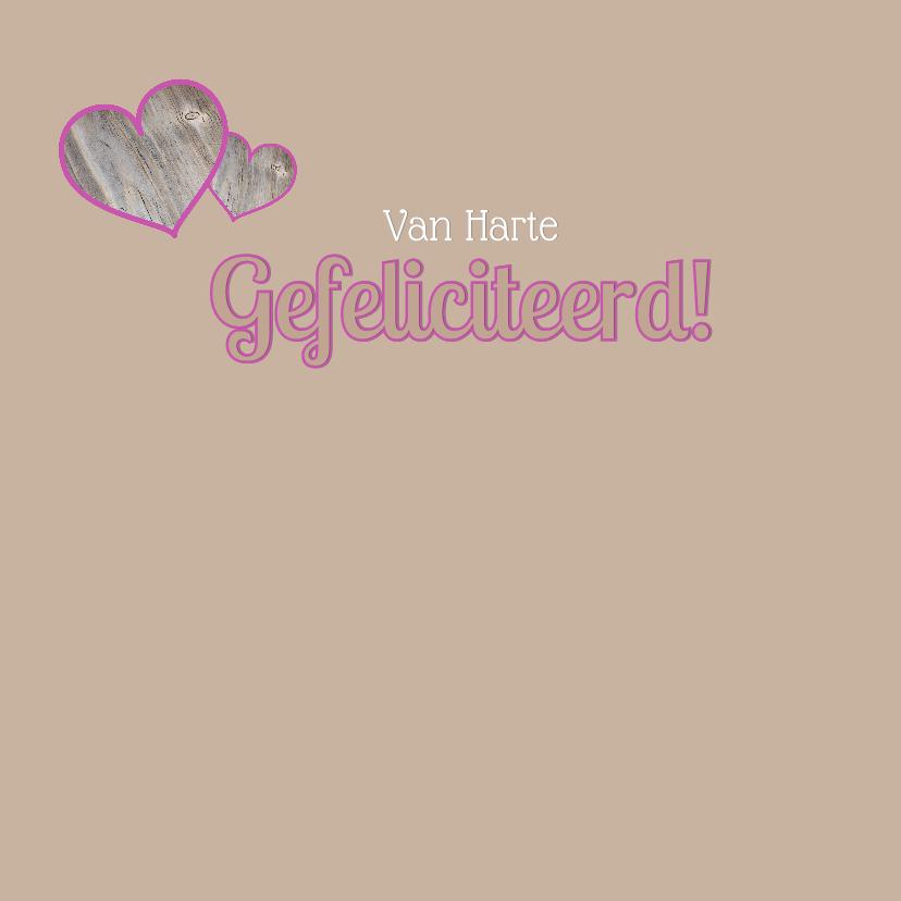 Felicitatie bloemen hart 3