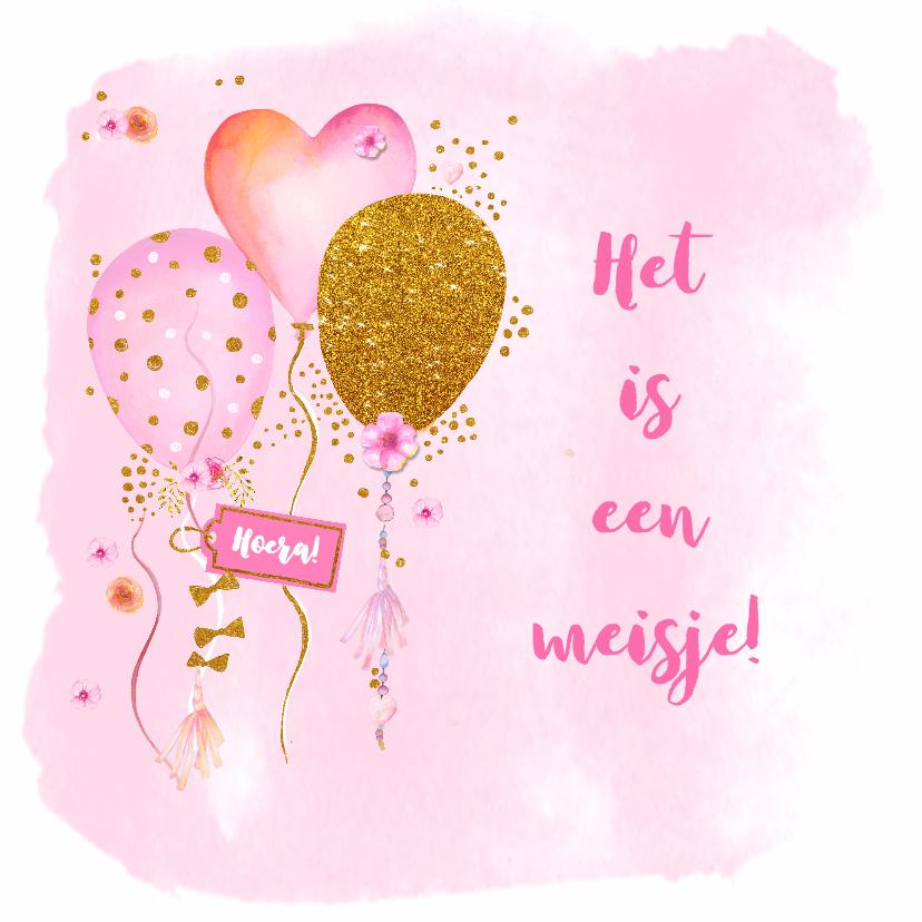 Felicitatie Geboorte Ballonnen Hash Verjaardagskaarten Afbeeldingen Champagne