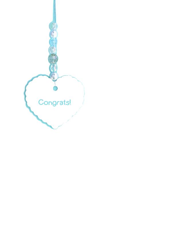 felicitatie geboorte hart jongen 2