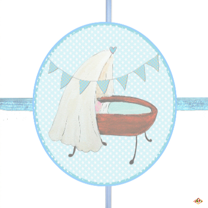 Felicitatie geboorte jongen PA 3